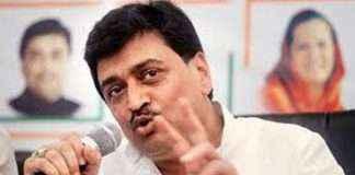 ashok chavan slams cm devendra fadnavis in nanded congress rally