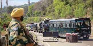 red alert in jammu kashmir national highways