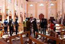 sri lanka serial bomb blasts