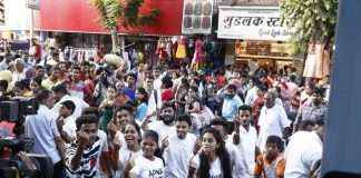 youth flash mob for voter awareness