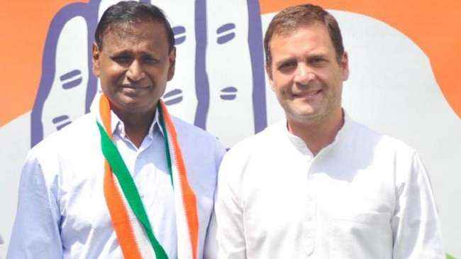 udit raj join congress