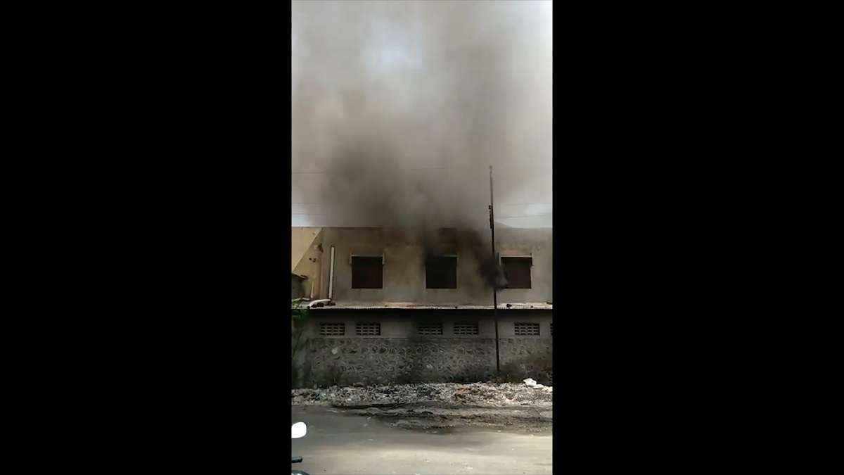 Major fire in wood factory in malegaon