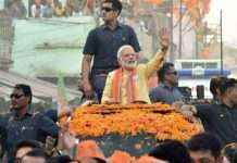 narendra modi to hold varanasi road show