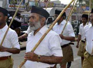 modi rally in nashik the black cap of RSS is not allowed