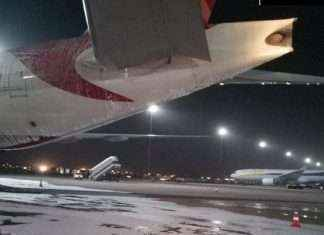 flight caught fire in Auxiliary Power Unit