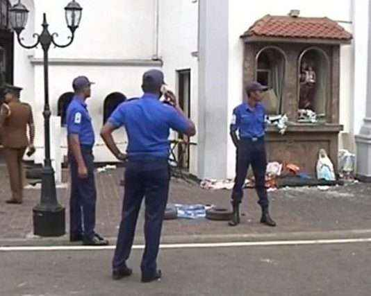 Multiple explosions in Colombo and other parts of Sri Lanka, reports Sri Lankan media. More details awaited