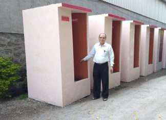 toilet man entry in lok sabha election 2019 from Madha constituency
