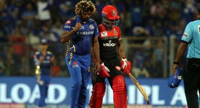 malinga bold rcb batsmans