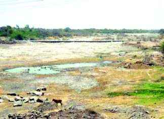 Waterproof water question pending; Meeting of Irrigation - MIDC officer absent!