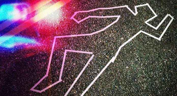 murder of a person in Santa Cruz
