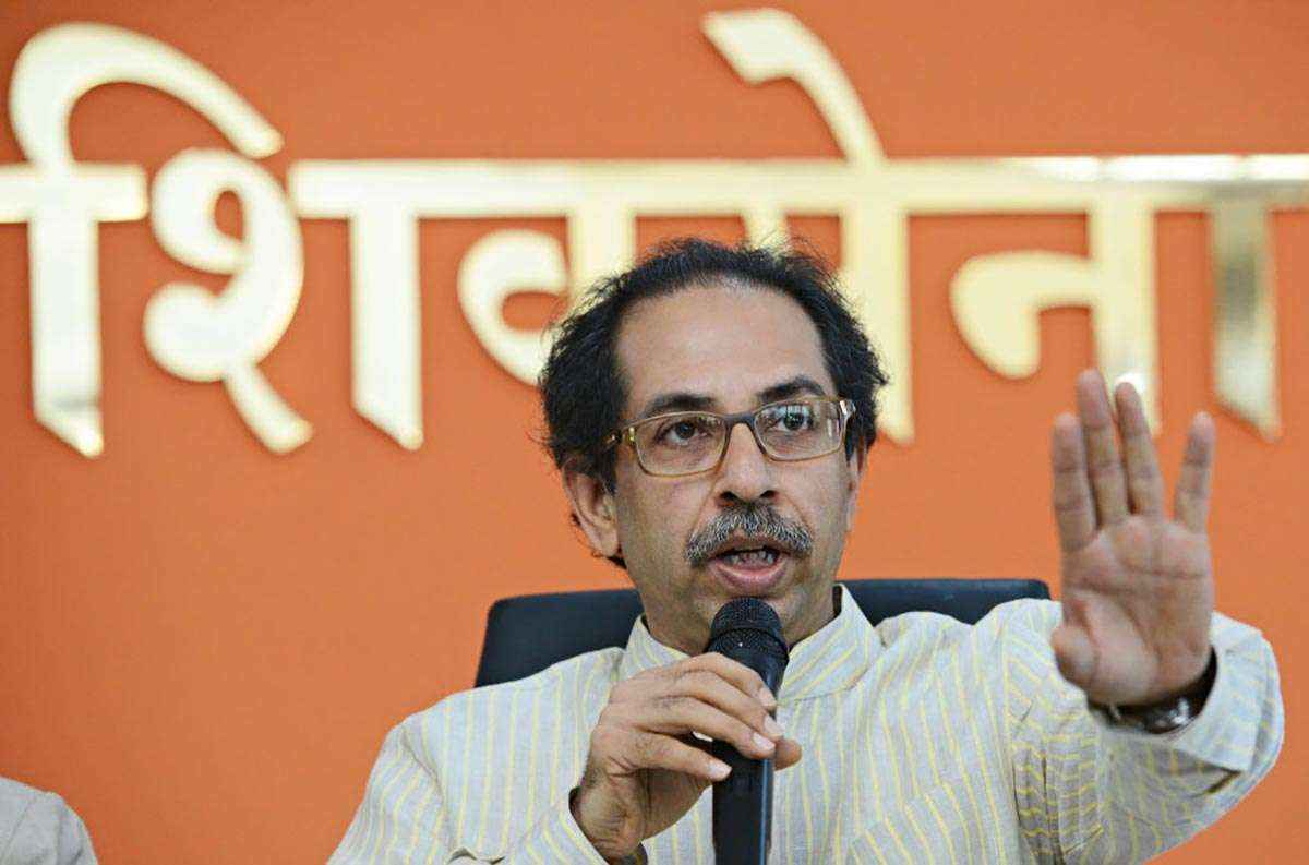 Uddhav thackeray slams rahul gandhi on garibi hatao slogan