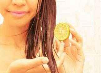home remedy lemon pack for silky hair
