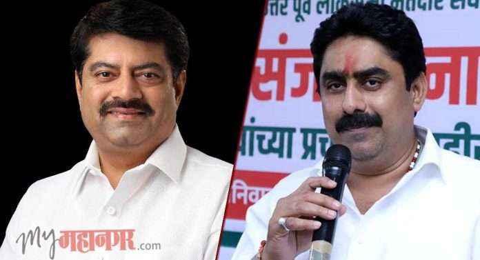 manoj kotak and sanjay dina patil mumbai north east constituency