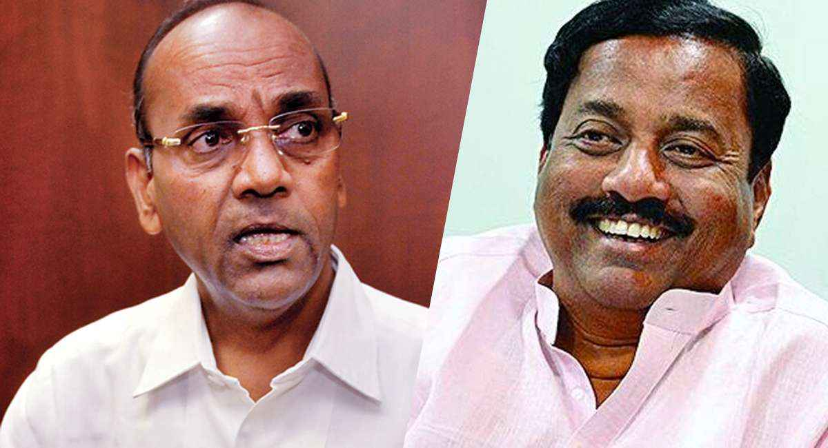 mp anant geete and ncp sunil tatkare