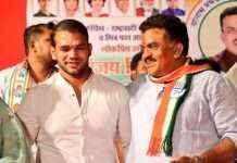 narsing yadav and sanjay nirupam