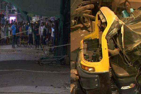 one part of building collapse in Dharavi one dead