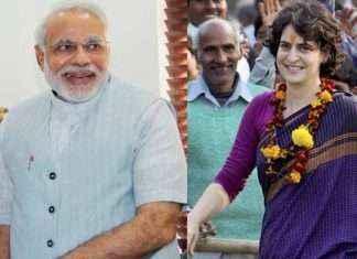 priyanka gandhi vs narendra modi
