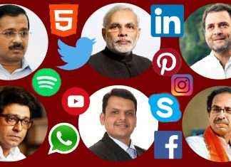 social media in indian politics