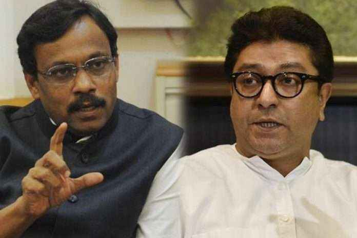 Raj thackeray is campaigning for which party?- vinod tawade