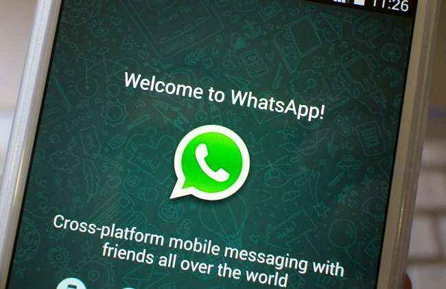 Now we can just whatsapp on landline