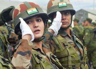 women in indian army recruitment