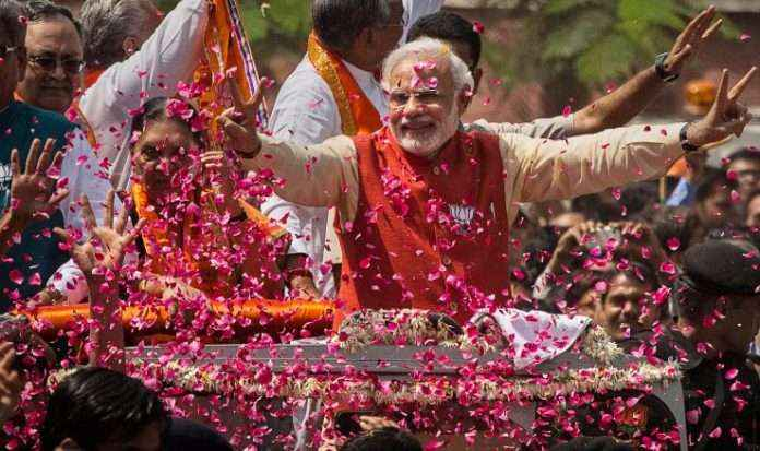 modi wave was today five years ago