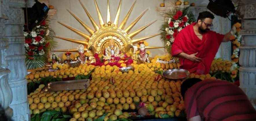 shivaji park ganesh for 2 thousand one hundred mahanavedhya