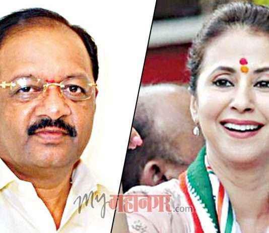 BJP Gopal Shetty and Congress Urmila Matondkar