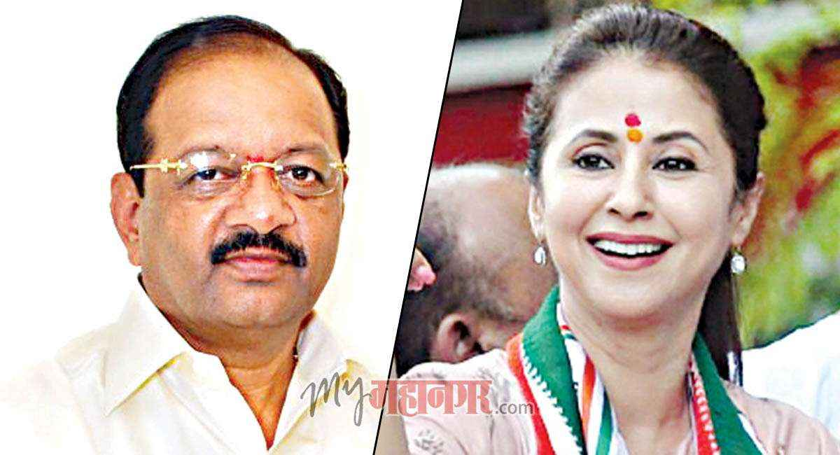 BJP Gopal Shetty and Congress Urmila Matondkar