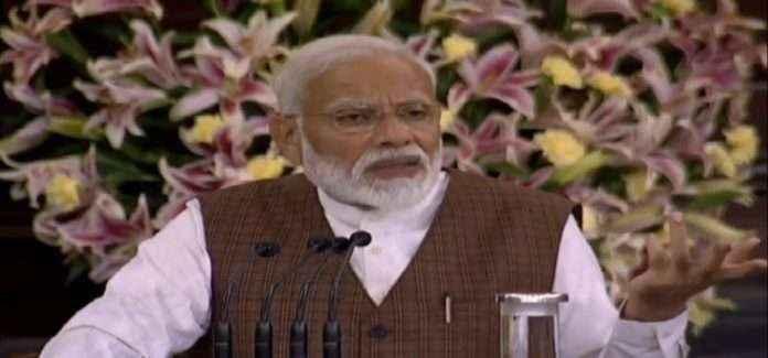 PM Narendra Modi Speech in Parliamentry Hall