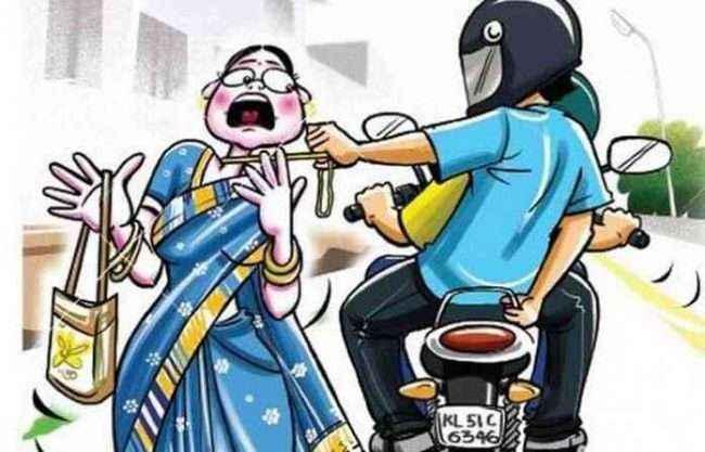 police arrested chain snatcher at bhivandi