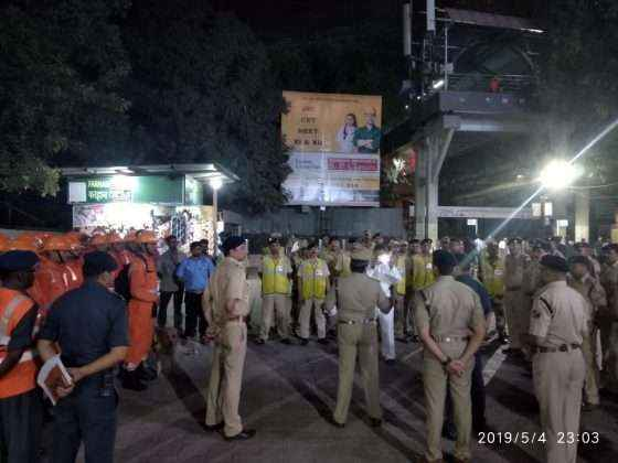 mock drill program organised at andheri railway station
