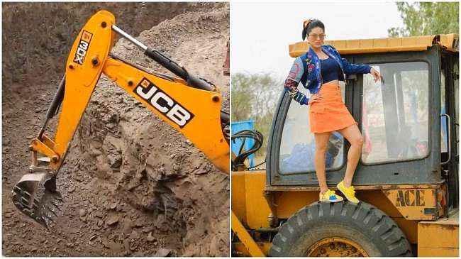 jcb ki khudayi trend top in social media