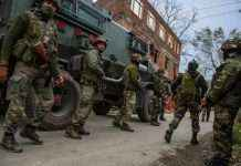 Exchange of fire underway between terrorists and security forces in Gopalpora area of Kulgam