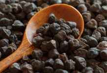 benefits of black chana water