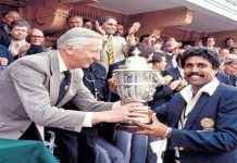 INDIA WON THE WORLD CUP 1983