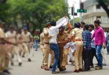Yashwant sena protest against state government dhangar reservation demand