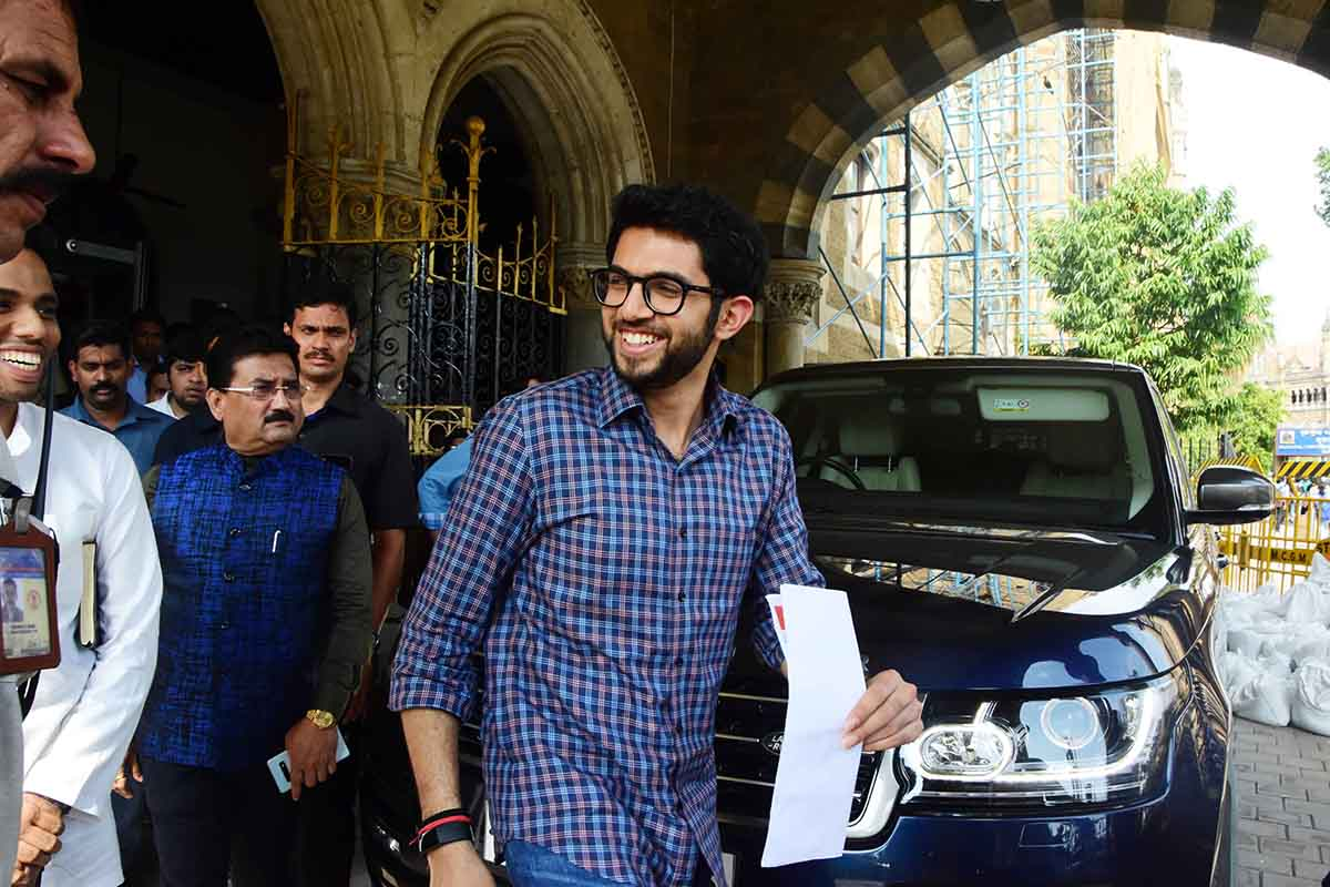 ADITYA THACKERAY AT BMC