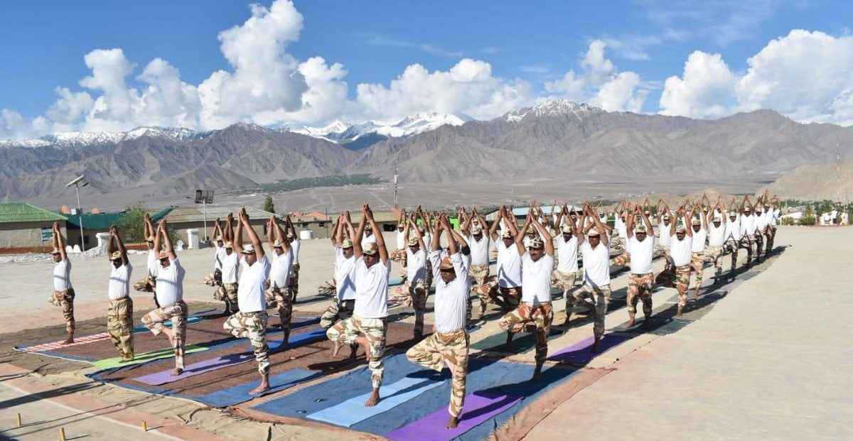 yoga day celebrations in india 2019