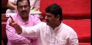 Dhananjay Munde in legislative council