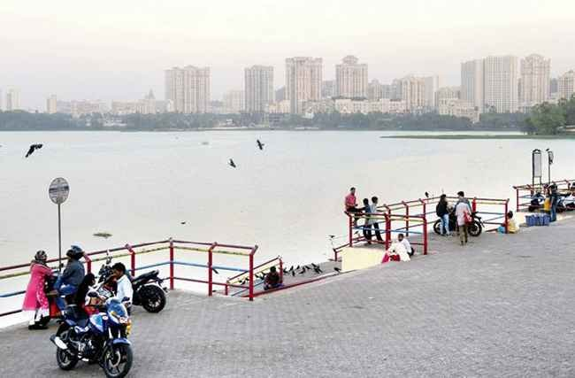 contractor will be hired to remove the waterfowl and floating debris from Powai Lake