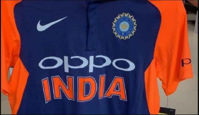 Team India Saffron Jersey look alike