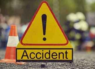 Ambadi Vajreshwari Road Accident; 4 bikers injured