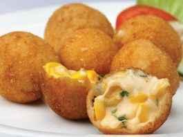 corn cheese ball recipe in marathi