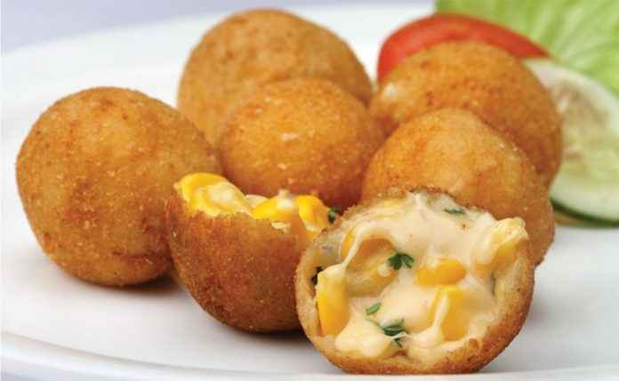 corn cheese ball recipe in marathi