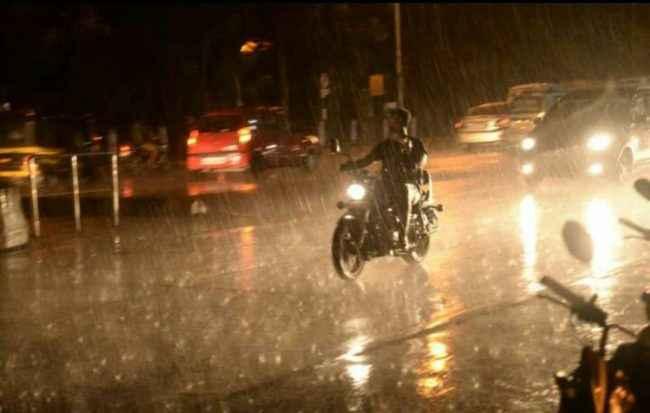 rain fall in Mumbai
