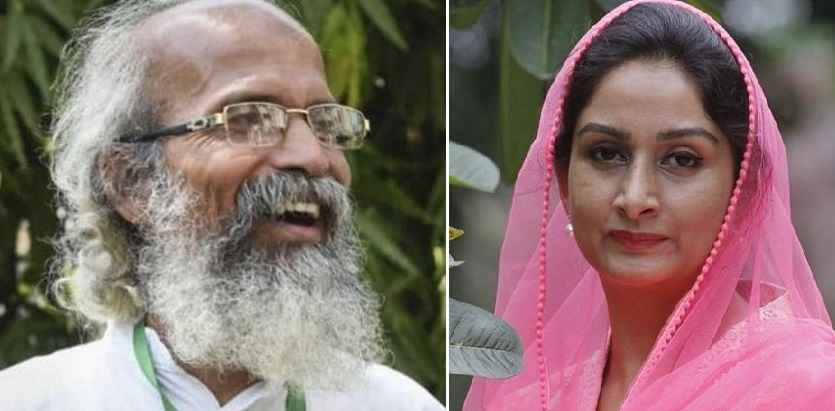 pratap chandra sarangi and harsimrat kaur badal
