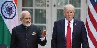 President Trump And Indian PM Modi