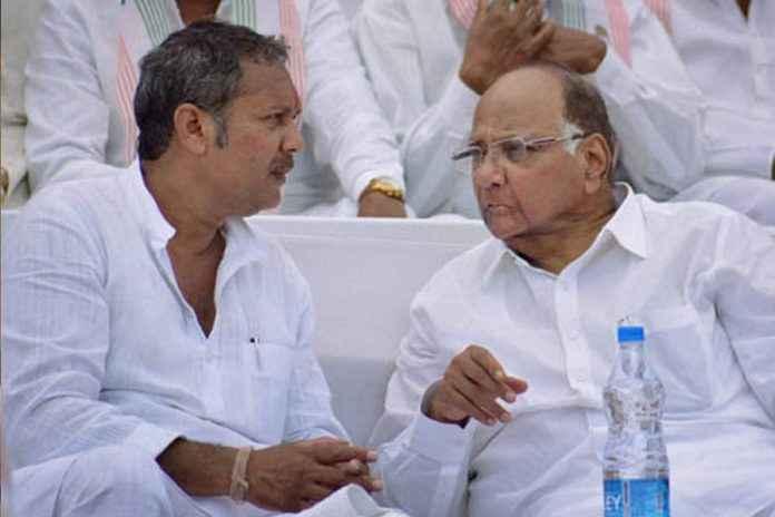 udayanraje bhosale and sharad pawar