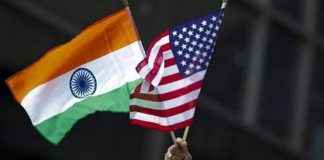 indian flag in america
